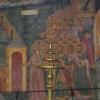 Fresko in einem Kloster nahe Trojan