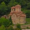 Blick auf orthodoxe Kirche in Veliko Tarnovo