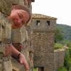 in den Ruinen von Veliko Tarnovo