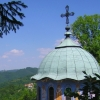 Balkan monastery church