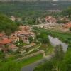 view down to Veliko Tarnovo