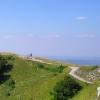 在巴尔干山的Trojan的山口的塔楼