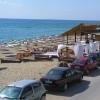 在Varna附近的海滩