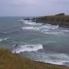 在Ahtopol的海岸