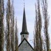von der Kirche in Skaun ging es ...