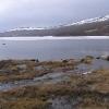 在海拔1800米的冰湖(是5月份)