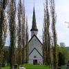 从Skaun农村的教堂我们走过。。。