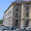 das Gebäude von den Treppen des Panthéon gesehen