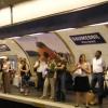 eine typische Metrostation