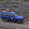 einer unserer beiden Jeeps