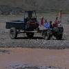 eines der häufigsten Fahrzeuge in Tibet