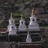 eine Stupa ist ein Symbol für Buddhas Geist