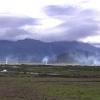 aufsteigende Rauchwolken