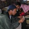 Zampa und getrocknetes Yakfleisch