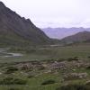 dieses Tal hatten wir nach dem Pass vor uns