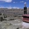 heute sind Tempel und Wohnhäuser ...