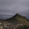 Blick vom einen Kloster Gyantses