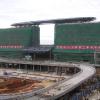 neuer Bahnhofskomplex