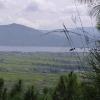 noch ein Blick über den Dali-See und die Ebene