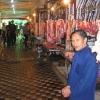 卖肉的市场