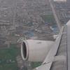从飞机上看到成都