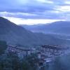藏族的很重要的一个节日就是雪顿节
