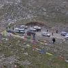 第一天坐车去西边我们就过了一个5300米高的山口