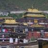 在日喀则市的寺庙
