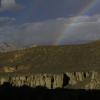 虽然只下了一点点雨,但是还是可以看到一个很漂亮的彩虹