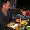 终于再可以吃中国菜;虽然西藏的风景超级票连,可是菜不是真的最好吃的