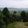 山看上去比较矮,可是还是海拔大概4000米高