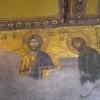 Fresko in der Hagia Sophia