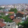 Blick über den europäischen Teil Istanbuls