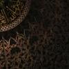 Kuppeldecke im Topkapi Serayi mit herunterhängender Goldkugel