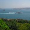 Bosporus with bridge
