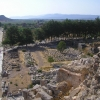view from the theatre of Ephesos