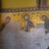 在圣索非亚大教堂里的湿壁画