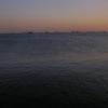 在马儿马拉海边的晚上